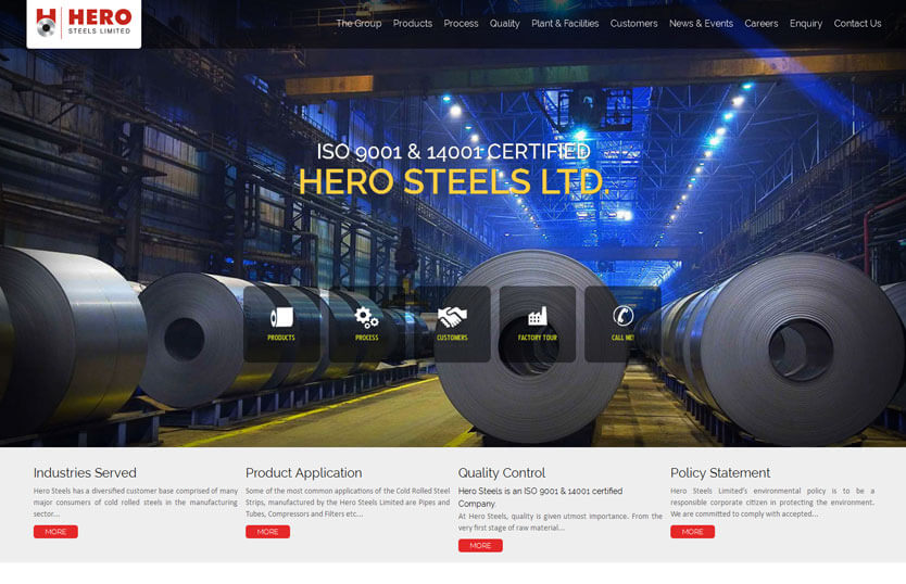 Hero Steel Ltd.